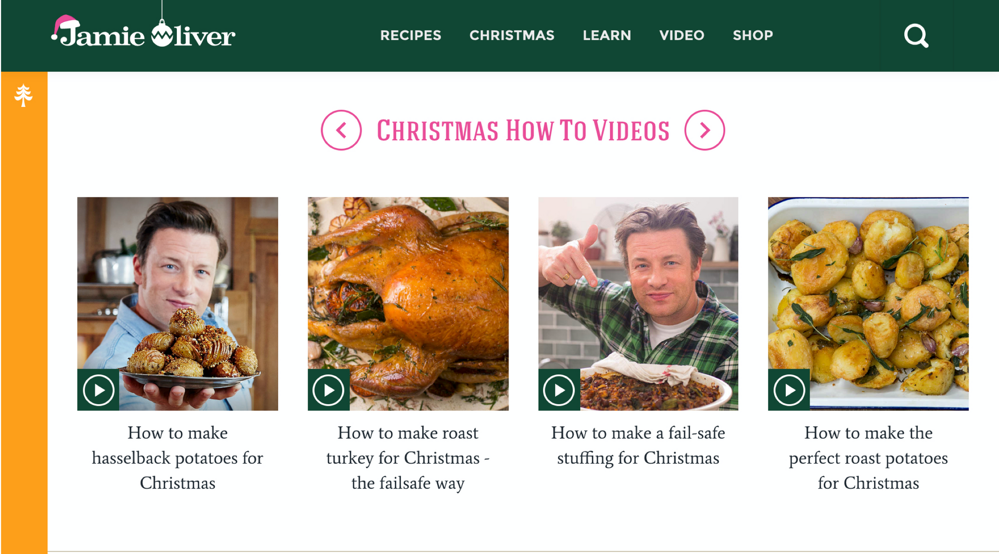 Jamie Oliver uses Luminery